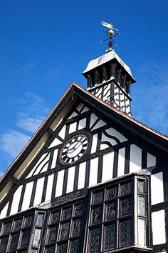 The Town Hall Bridgnorth Shropshire England, via Flickr. Britain Uk, Great Britain, River Severn, Tudor House, Snowdonia, Open Spaces, West Midlands, City Buildings, Town Hall