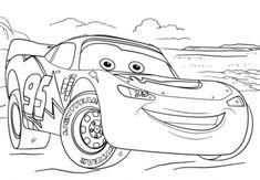 ausmalbilder cars 2 zum drucken kostenlos 10 | lightning mcqueen