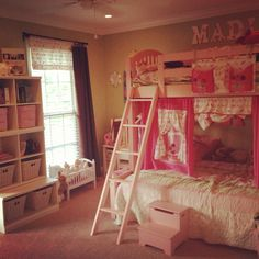 Bunk beds in a small space