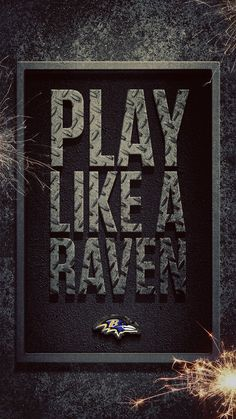 It feels good to fly with the flock, especially if that flock is seventy-thousand screaming Baltimore Ravens fans. Show your colors with this smartphone wallpaper and follow the Ravens with #NFL Mobile from #Verizon. #Football