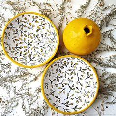 Ceramic Tableware, Ceramic Clay, Ceramic Painting, Porcelain Ceramics, Ceramic Pottery, Pottery Art, Pottery Painting Designs, Pottery Designs, Keramik Design