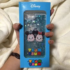 Tsum Tsum iPhone 6 case Brand New // comes with retail packaging // Mickey and Minnie // iPhone 6/6s case // interaction blue glitter shake case Accessories Phone Cases