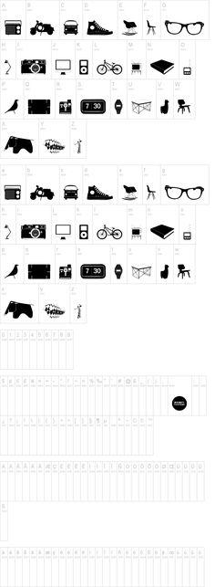 I need those glasses. The font is called Cool Stuff
