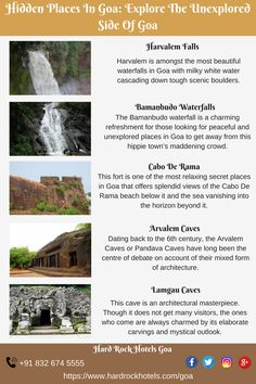 Hidden Places In Goa: Explore The Unexplored Side Of Goa. Goa Travel, India Travel Guide, Travel Route, Travel And Tourism, Travel Destinations, Travel List, Amazing Places On Earth, Beautiful Places To Travel, Best Places To Travel