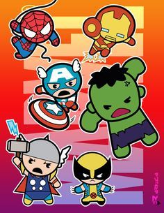 just fan art from marvel characters. all names and characters are property of MARVEL. tanks for viewing Marvel (chibi) Super Heroes Baby Avengers, Baby Spiderman, Baby Marvel, Chibi Marvel, Avengers Cartoon, Baby Superhero, Marvel Cartoons, The Avengers, Marvel Art