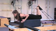 Hamstring Exercises on the Reformer : Pilates & Core Work