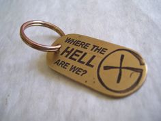 I have found myself asking this many times - and it always sounds like Dominic from Lost!