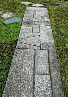 Genuin Stepping Stones 真の飛石 (Enshu taste), Katsura Rikyu