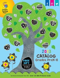 Check Out The NEW Creative Teaching Press Catalog - Spring 2013 Grades PreK-8