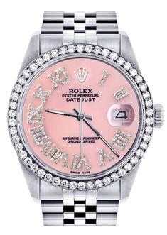 Stylish Jewelry, Cute Jewelry, Jewelry Accessories, Rolex Women, Women Rolex Watches, Quality Diamonds, Rolex Datejust, Beautiful Watches, Michael Kors
