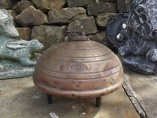 OLD ANTIQUE VINTAGE ** WAFAX COPPER HOT WATER BOTTLE ** SHABBY CHIC BED WARMER