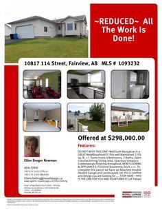 10817 114 Street, Fairview, T0H 1L0  MLS#  L093232