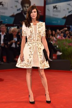 Anna Mouglalis in Chanel Couture fall 2015