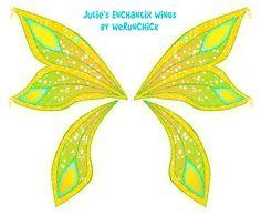 Julie's Enchantix wings by werunchick on DeviantArt