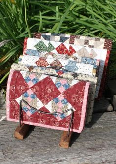 Tiny Quilts by Temecula Quilt Co. - could be used for sewing kits