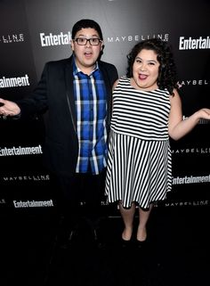 Pin for Later: The Cast of Orange Is the New Black Stepped Out in Full Force at This Pre-SAG Awards Bash  Pictured: Rico Rodriguez and Raini Rodriguez