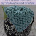 Free crochet pattern: Scrub-a-dub-dub Washcloth by Underground Crafter via Saturday Link Party on Rebeckah's Treasures