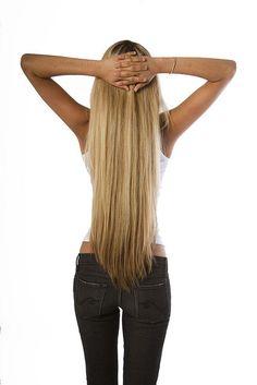 This makes me want long hair soo bad!