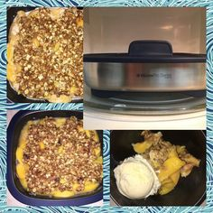 Delicious dessert in minutes in Tupperware's Micro Pro Grill! Check out Www.reneestupperware.my.tupperware.com to get yours today!