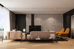 Modern Apartment Design Ideas With The Soft And Sleek Texture - RooHome   Designs & Plans