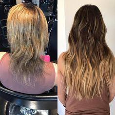 Klix hair extensions by mandy marie darla co hair salon day love this transformation with klix hair extensions by thebeautyandtheblade repost ummmm so pmusecretfo Choice Image