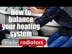 Jimmy the plumber explains in simple terms how and why it's necessary to balance your radiators. In this case, 'balance' means evenly distributing the flow f.