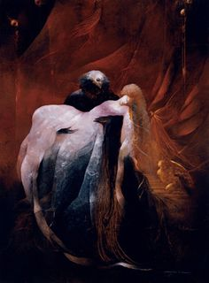 Anne Bachelier Paintings | Anne Bachelier The Phantom of the Opera: Christine Faints