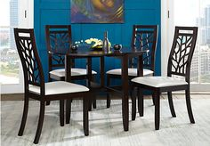 Shop for a Cafe Espresso 3 Pc Dining Set at Rooms To Go. Find Dining Room Sets that will look great in your home and complement the rest of your furniture.