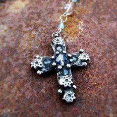 Křížek - fleur bleue
