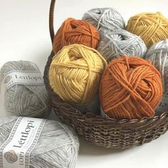 Álafoss - since Icelandic knitting yarn, Icelandic wool sweaters, Icelandic design and souvenirs at a reasonable price - world wide shipping. Wool Yarn, Knitting Yarn, Wool Sweaters, Photo Credit, Basket, Crochet, Instagram, Crochet Hooks, Marled Sweater
