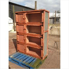 WINTER RABBIT HUTCH TRIPLE could possibly even work for other rodents