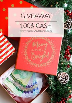 #Sparksandbloomcash The Sparks and Bloom sisters want to spoil you for Christmas! We want to thank you for being part of this adventure with us by giving you a chance to win a 100$ cash.  A$ 100 CASH  to spend on WHATEVER YOU WISH FOR  . It's time to Spoil yourself with some free money !!  To enter the giveaway   ✔️ 1. Follow Sparks and Bloom on Pinterest ;  ✔️ 2. Pin the contest's picture to one of your boards and make sure to tag #Sparksandbloomcash ! #Contest #concours #money Mom Hacks, Baby Hacks, Mom Advice, Parenting Advice, Spoil Yourself, Family Organizer, Family Crafts, S Pic, Baby Products