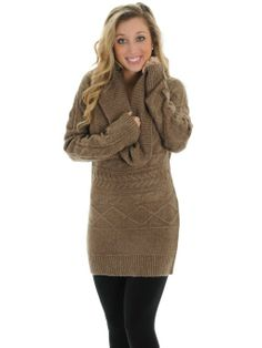 CONVERTIBLE COWL TUNIC SWEATER #EXPRESS | Clothes & Shoes ...