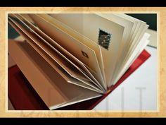 Hand bound book - Bookbinding - Encadernação artesanal -Álbum de Envelopes - Estúdio Brigit