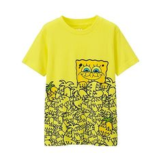 KIDS SpongeBob Short Sleeve Graphic T-Shirt