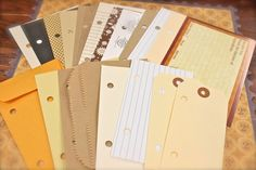 Fall Mini Album Starter Kit nearly 80 by mwooderson on Etsy
