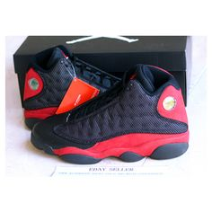 "lower price with ed33b e8a7f Air Jordan XIII ""Bred"" Release Reminder ❤ liked on Polyvore Jordan Xiii, Air"