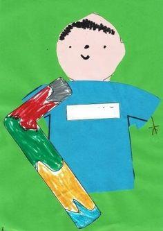 Εγώ και το αρχικό μου :: kidsactivities.gr Kai, Ronald Mcdonald, Outdoor Decor, Fictional Characters, Fantasy Characters, Chicken