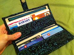 Jazzy Wallet - now with TUTORIAL LINK - PURSES, BAGS, WALLETS