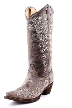 Corral Boots   Womans Cowboy Boots That Are Beautiful All Around