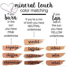 Which match is right for your skin tone? Find products at www.youniqueproducts.com/joleneglazier