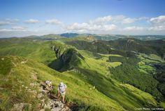 Monts du cantal - Randonnée sur le Puy Mary (Cantal) Auvergne