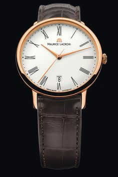 Classic and casual for a chill weekend day    Maurice Lacroix