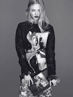 Givenchys family affair for autumn/winter 2013 campaign - Amanda Seyfried