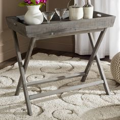Lark Manor Rouen Tray Table