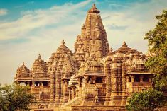 Khajuraho Orchha Tour from Delhi - Quality and Value for Money, Custom made Private Guided, All India Tour Packages by Indus Trips - India's Leading Travel Company Khajuraho Temple, Jain Temple, Temple India, Carrousel, India Tour, Travel Companies, Ancient Architecture, World Heritage Sites, Barcelona Cathedral