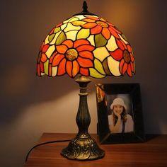 Morning Chrysanthemums Tiffany Ceiling Lamp