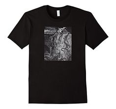 Vintage Art Shirts: The Gnarled Monster by Gustave Dore. This Graphic Shirt features an illustration from Cervantes' Don Quixote. This is an Original Wood-Cut Engraving first published in London in 1870. Art, horror, Literature, Book, Library, trendy, indy, unique, authentic. Men's. Boy's, Adult Fashion Women's Shirt Casual clothing gift   http://amzn.to/2gEo5xM