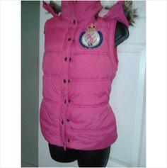 Designer PAULS BOUTIQUE Ladies Stunning Fitted Hooded Warmer Gilet Jacket Coat