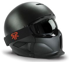 Matte Black RG-1 Core Ski & Snowboard Helmet by Ruroc Sports